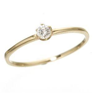 一流の品質 K18/twelveカラージュエルリング ダイヤリング 指輪 13号, 千々石町 67a5fa98