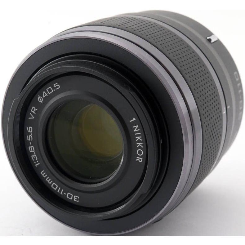 望遠レンズ ニコン ミラーレス おすすめ Nikon 1 NIKKOR VR 30-110 ブラック|i-camera-shop