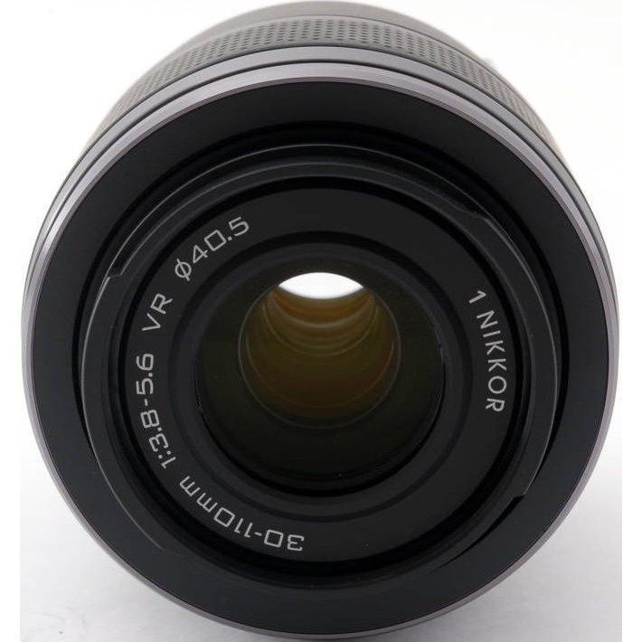 望遠レンズ ニコン ミラーレス おすすめ Nikon 1 NIKKOR VR 30-110 ブラック|i-camera-shop|02