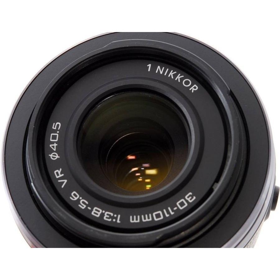 望遠レンズ ニコン ミラーレス おすすめ Nikon 1 NIKKOR VR 30-110 ブラック|i-camera-shop|03