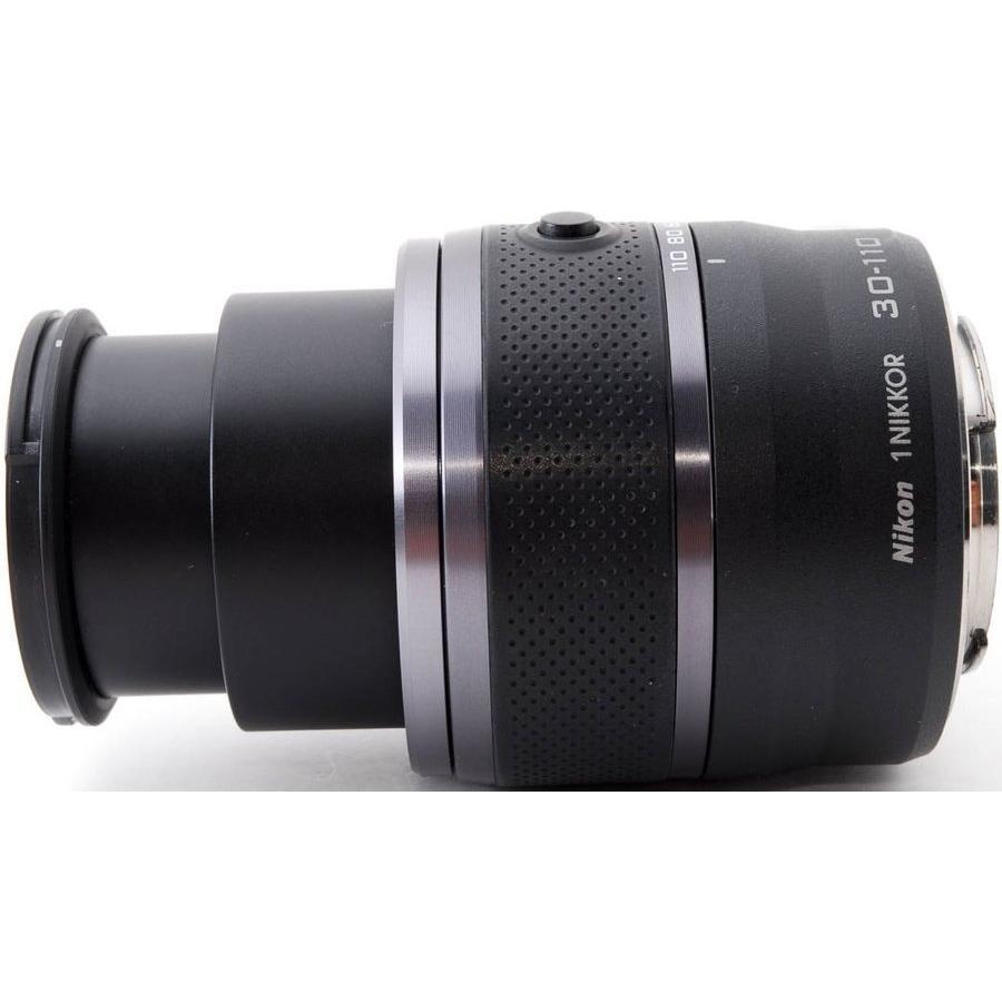 望遠レンズ ニコン ミラーレス おすすめ Nikon 1 NIKKOR VR 30-110 ブラック|i-camera-shop|06