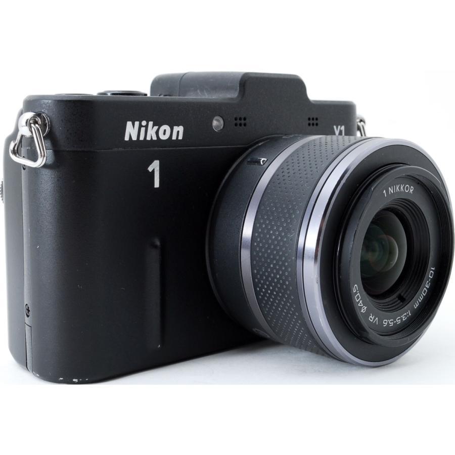 ニコン ミラーレス Nikon 1 V1 ブラック レンズキット スマホに送れる 中古|i-camera-shop|03