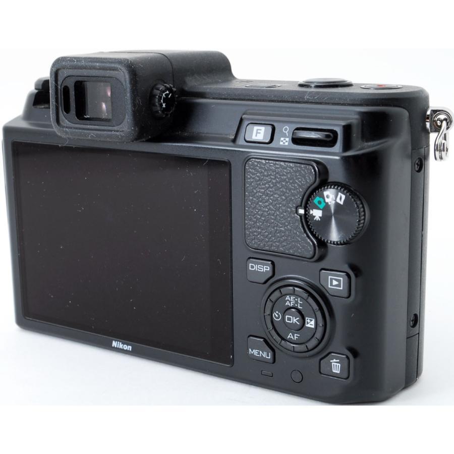 ニコン ミラーレス Nikon 1 V1 ブラック レンズキット スマホに送れる 中古|i-camera-shop|04
