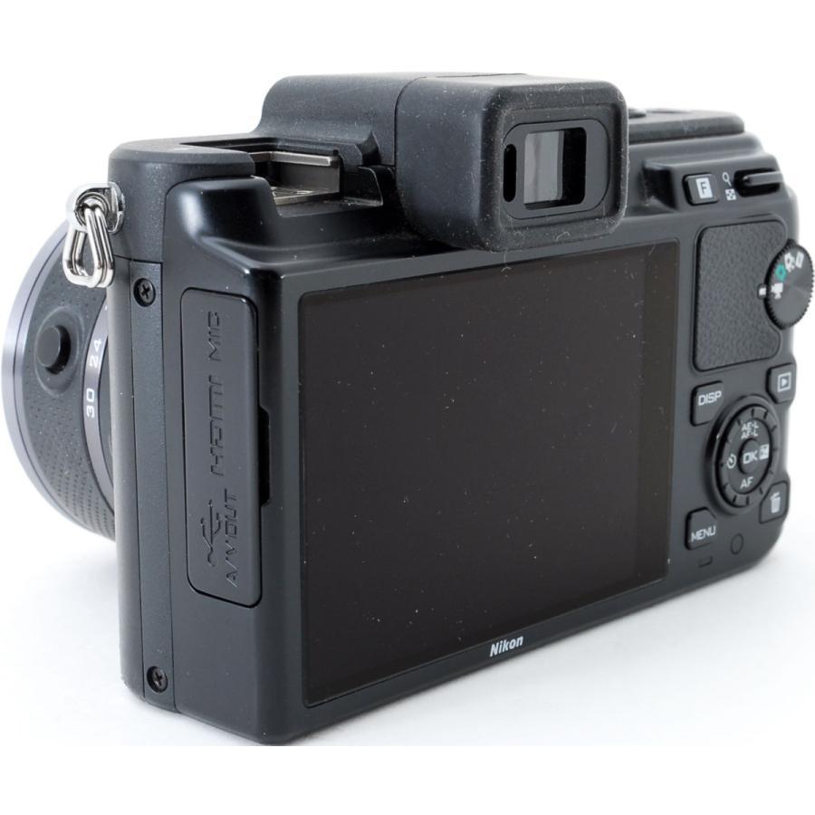 ニコン ミラーレス Nikon 1 V1 ブラック レンズキット スマホに送れる 中古|i-camera-shop|06