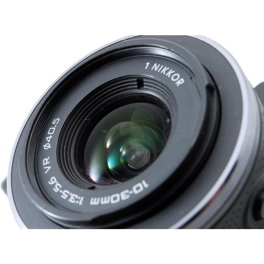 ニコン ミラーレス Nikon 1 V1 ブラック レンズキット スマホに送れる 中古|i-camera-shop|09