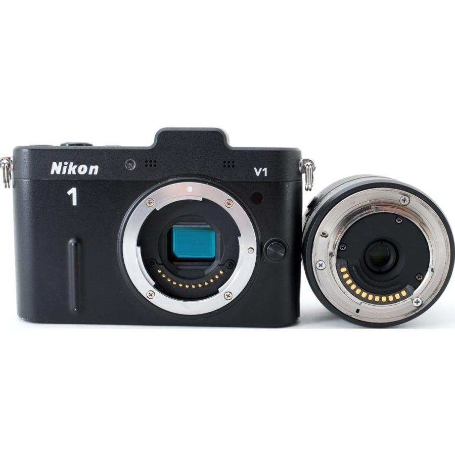 ニコン ミラーレス Nikon 1 V1 ブラック レンズキット スマホに送れる 中古|i-camera-shop|10