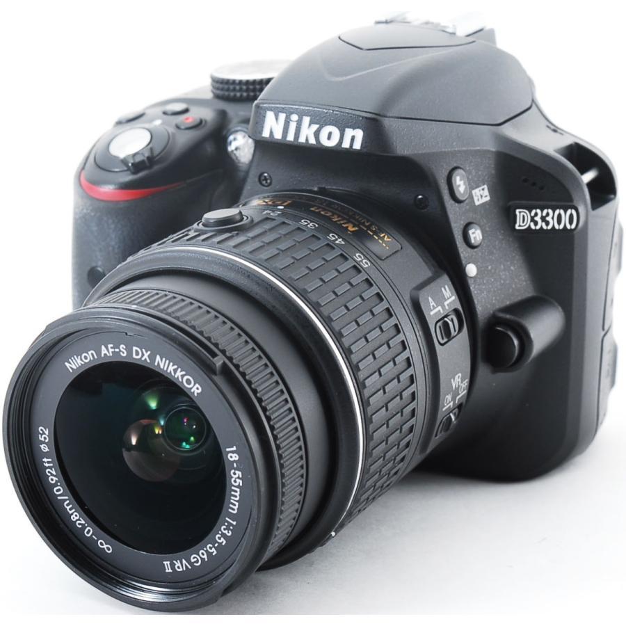ニコン デジタル一眼 Nikon D3300 レンズキット スマホに送れる 中古|i-camera-shop