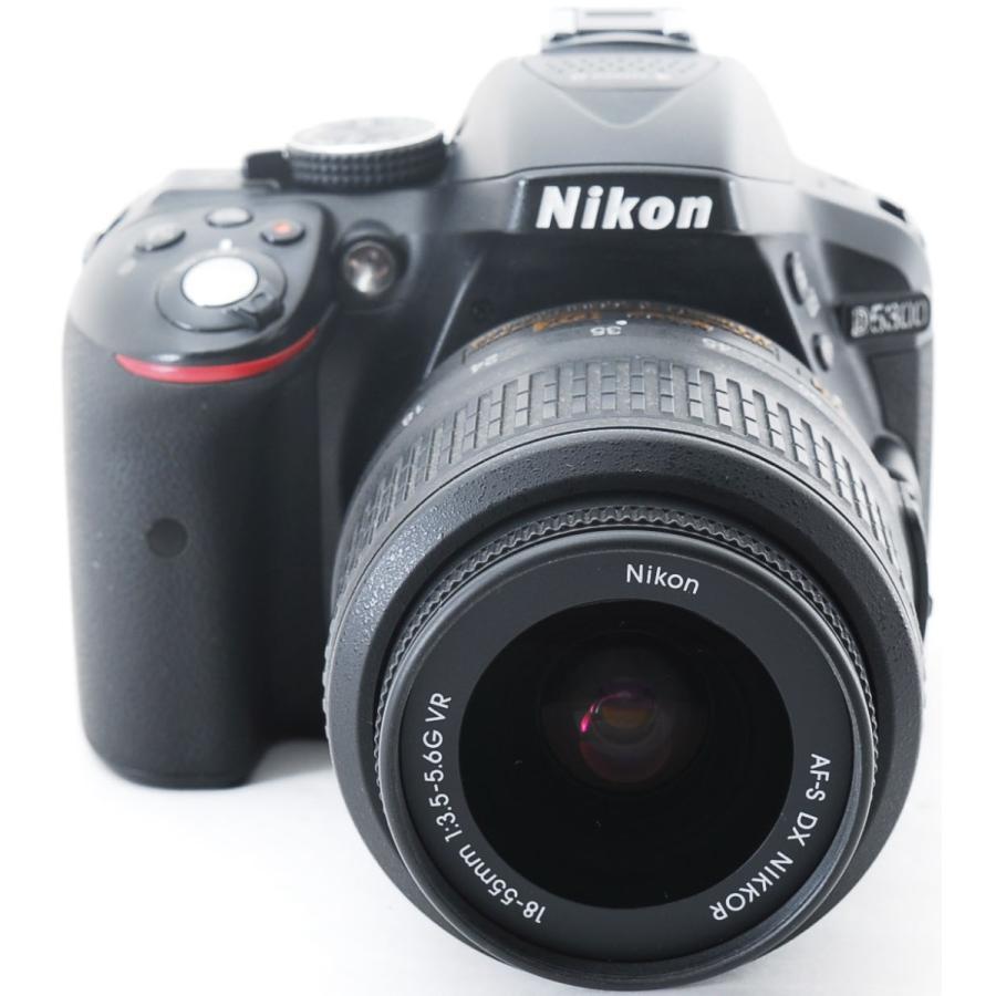 ニコン デジタル一眼 Nikon D5300 レンズキット ブラック Wi-Fi搭載 中古|i-camera-shop|02