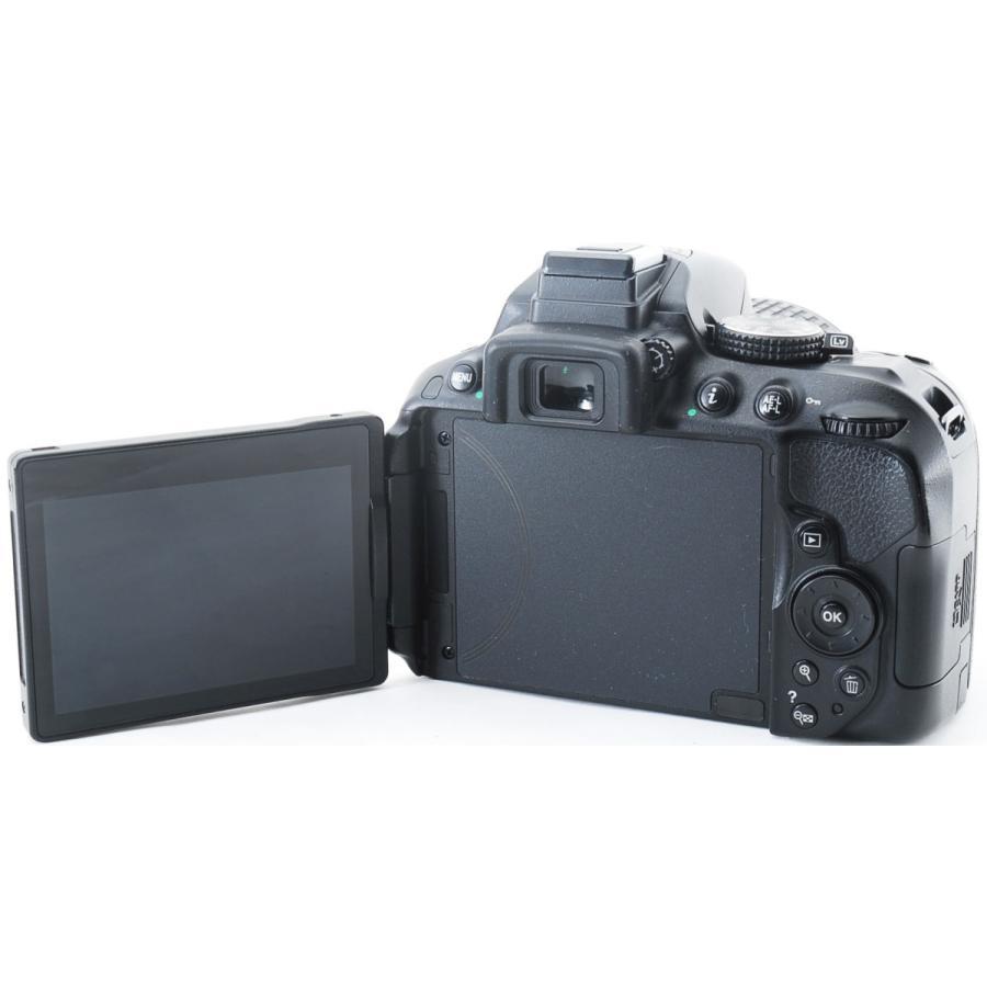 ニコン デジタル一眼 Nikon D5300 レンズキット ブラック Wi-Fi搭載 中古|i-camera-shop|05