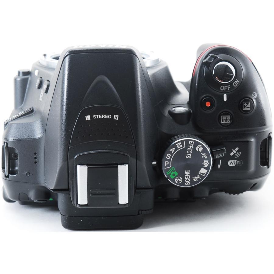 ニコン デジタル一眼 Nikon D5300 レンズキット ブラック Wi-Fi搭載 中古|i-camera-shop|06