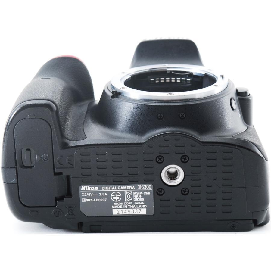 ニコン デジタル一眼 Nikon D5300 レンズキット ブラック Wi-Fi搭載 中古|i-camera-shop|07