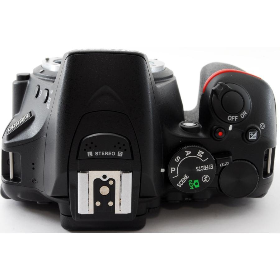 ニコン Nikon デジタル一眼 D5500 ボディ ブラック Wi-Fi搭載 中古 おまけ付き i-camera-shop 03