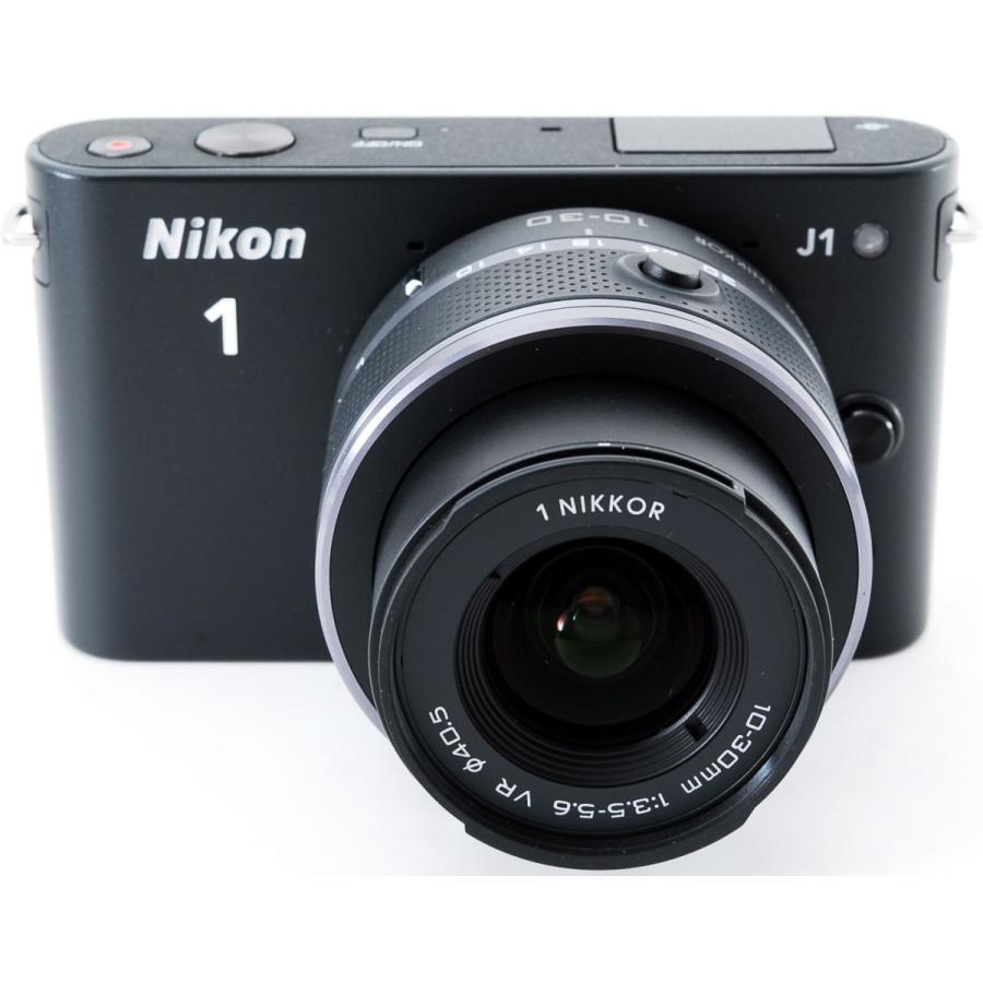 ニコン ミラーレス Nikon 1 J1 標準ズームレンズキット ブラック スマホに送れる i-camera-shop 02