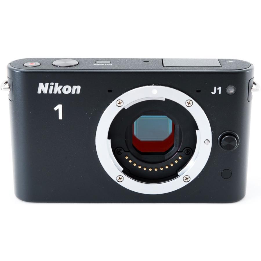 ニコン ミラーレス Nikon 1 J1 標準ズームレンズキット ブラック スマホに送れる i-camera-shop 03