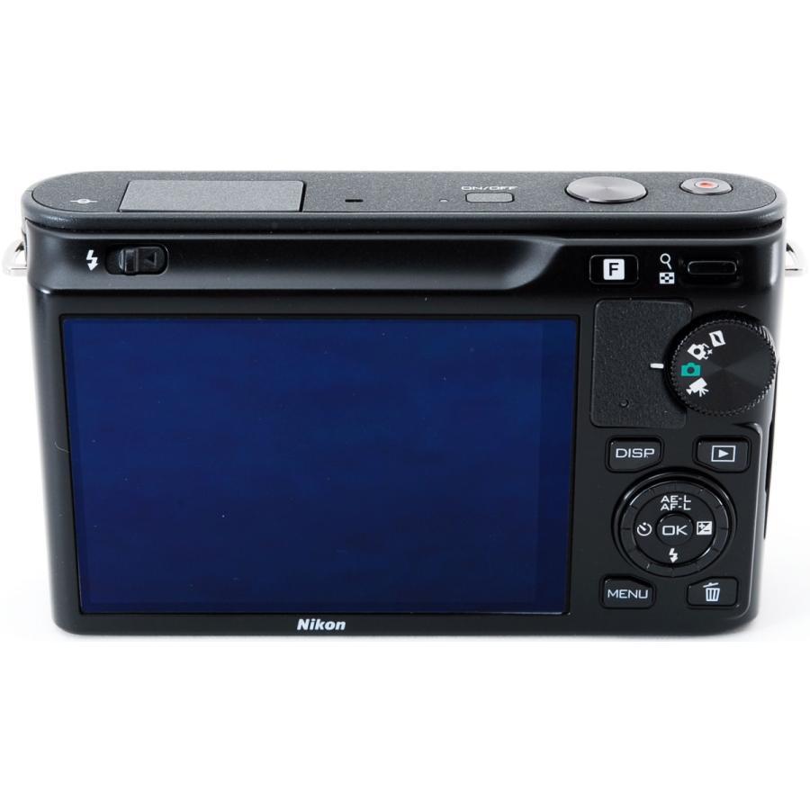 ニコン ミラーレス Nikon 1 J1 標準ズームレンズキット ブラック スマホに送れる i-camera-shop 04