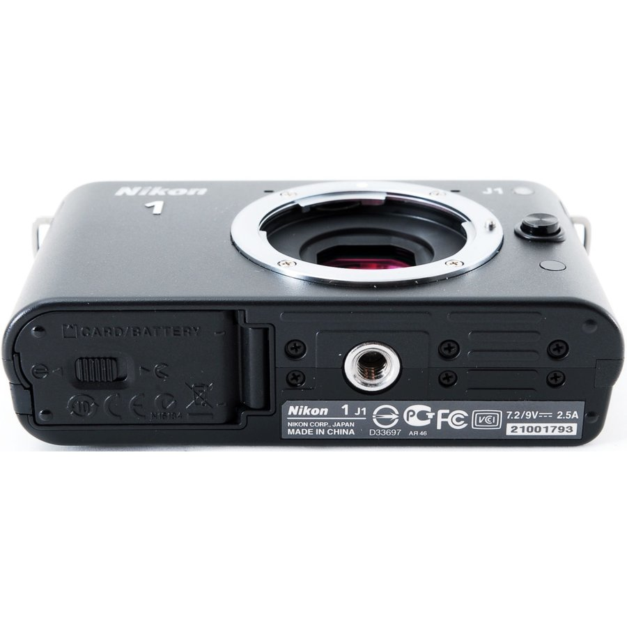 ニコン ミラーレス Nikon 1 J1 標準ズームレンズキット ブラック スマホに送れる i-camera-shop 06