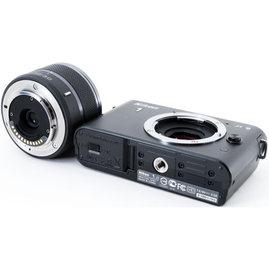 ニコン ミラーレス Nikon 1 J1 標準ズームレンズキット ブラック スマホに送れる i-camera-shop 07