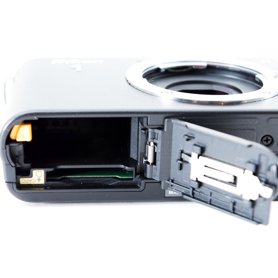 ニコン ミラーレス Nikon 1 J1 標準ズームレンズキット ブラック スマホに送れる i-camera-shop 08