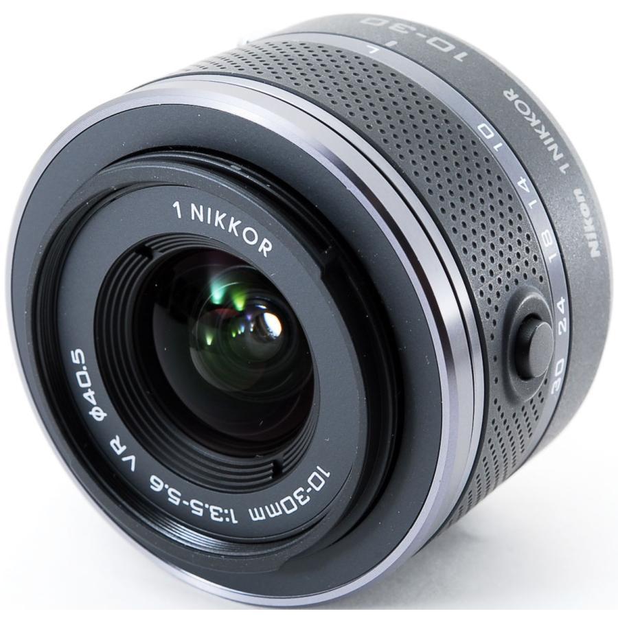 ニコン ミラーレス Nikon 1 J1 標準ズームレンズキット ブラック スマホに送れる i-camera-shop 09
