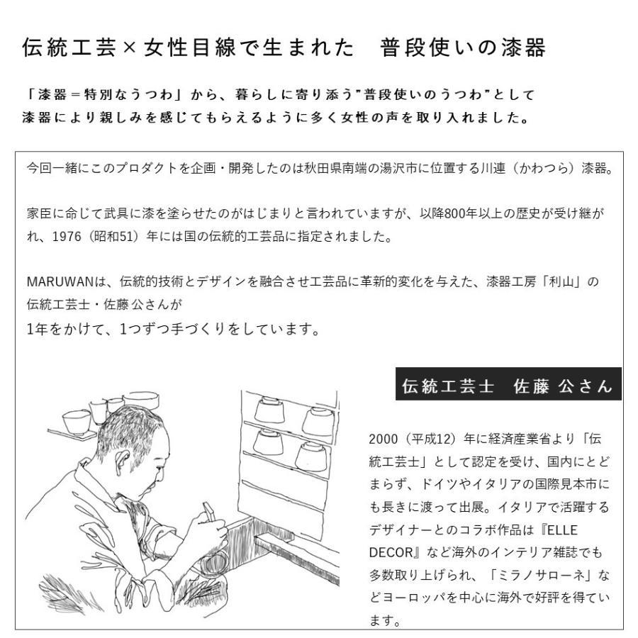 【伝統工芸SHIKI Kawatsuraシリーズ MARUWAN(単品)】100年もののうつわを日々の暮らしに。季節を感じる4色展開|i-crtshop|05