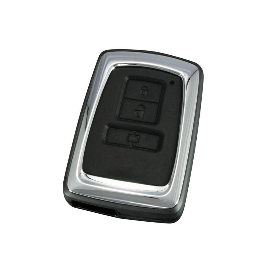 槌屋ヤック キーカバー スマートキーカバー トヨタ3 ハードタイプ2 ZE-12