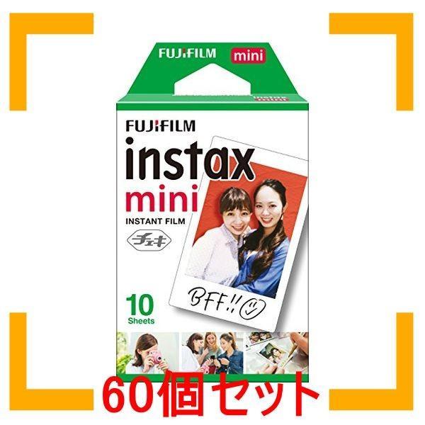まとめ買い 富士フイルム FUJIFILM インスタントカメラ チェキ用フィルム 10枚入 INSTAX MINI JP 1 60個セット