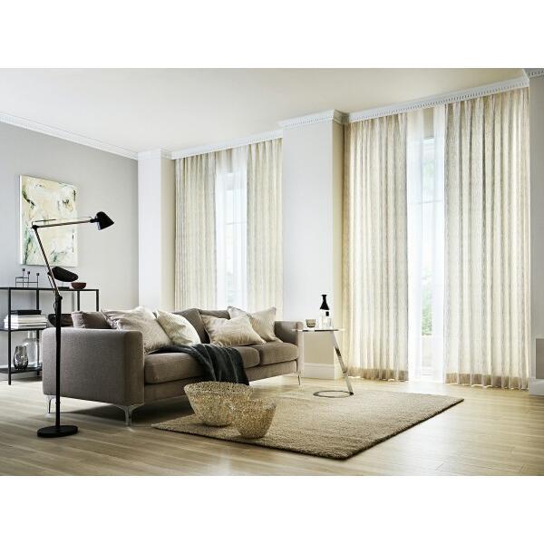 サンゲツ オーダーカーテン AC5001 巾250×丈81·100cm(2枚入) SS縫製仕様 約2倍 3つ山ヒダ