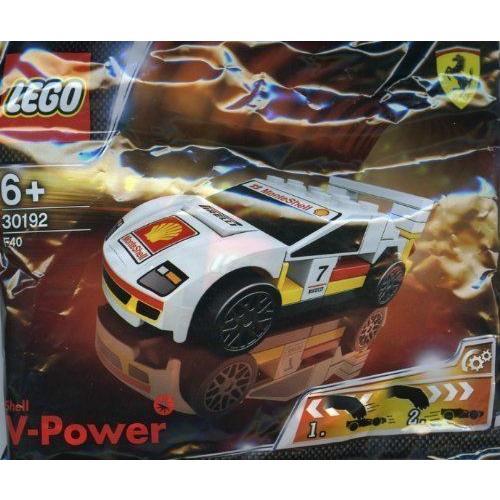レゴ レーサー フェラーリ シェル LEGO Ferrari Shell Promo 30192 Ferrari F40 Ferrari LEGO (japan import)|i-selection