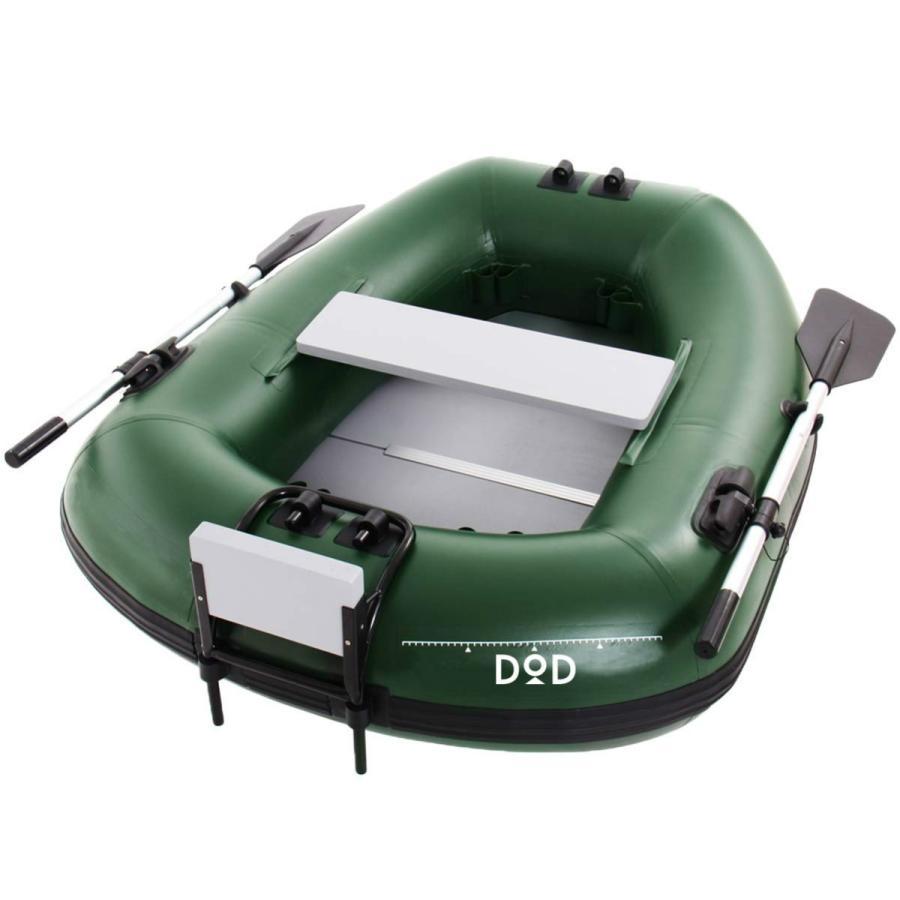 DOD バスフローターボート   DFB101   フットポンプ 組み立て式オール付属   初期不良1週間対応
