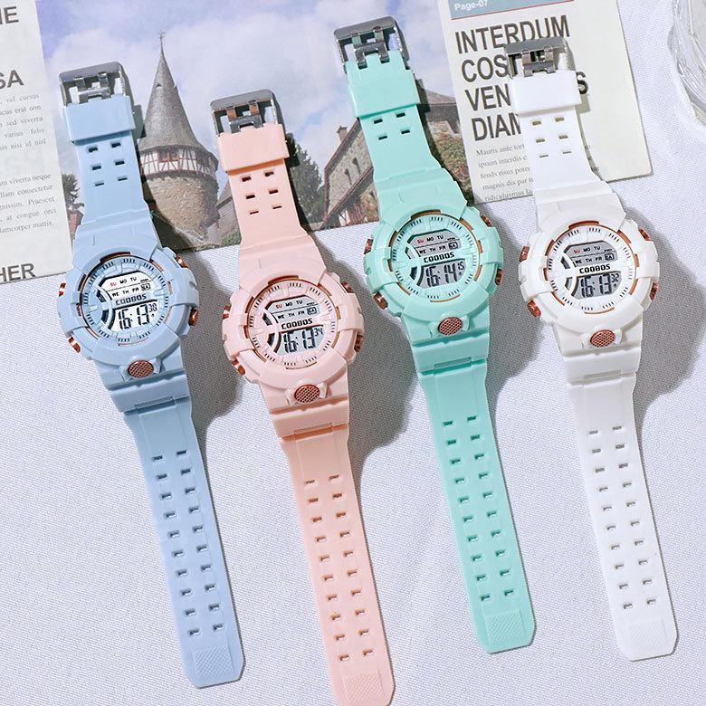 COOBOS レディースウォッチ 優先配送 女性 腕時計 時計 デジタルウォッチ カジュアル 国際ブランド 誕生日 高校生 レディース腕時計 おしゃれ ギフト かわいい