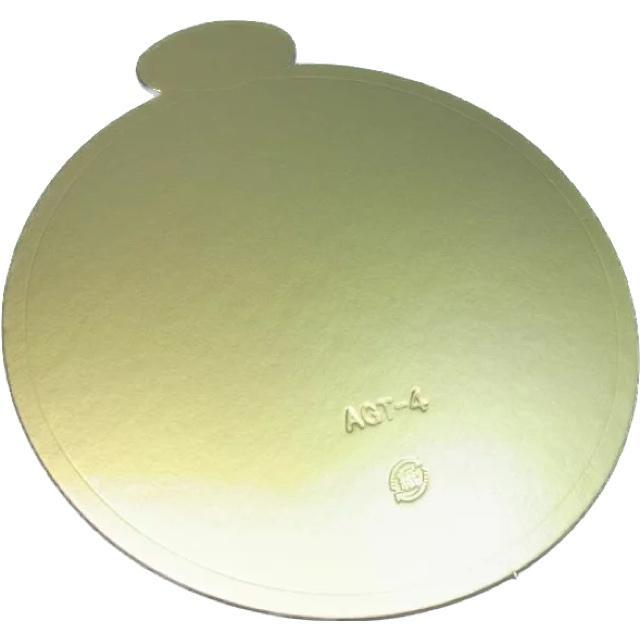 AGT-S ケーキトレー 5寸 φ181 100枚 紙製金色 売り込み ぱっけーじなかざわ スタンダード ショップ パッケージ中澤 デコトレー