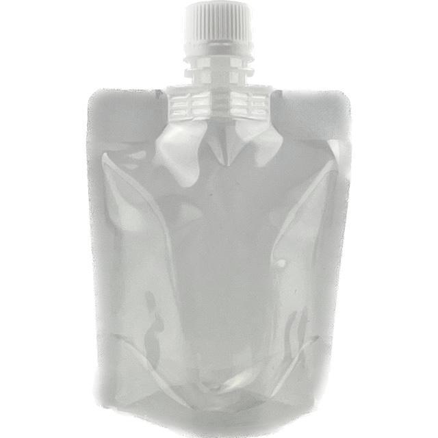 定番から日本未入荷 夢パック DP16-TB0100 再再販 600 枚 ハイバリアタイプ 納期1ヶ月以上かかる場合がございます キャップ付透明スタンド袋 ホワイトキャップ