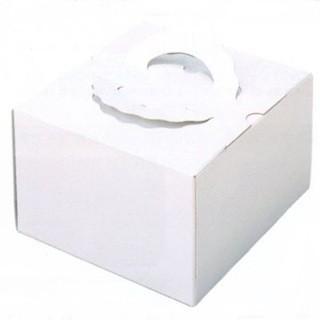 マーケット デコ箱 H140 TSD白ム地4.5寸用 162×160+20×140mm高 デコレーションケーキ用箱パッケージ中澤 トレー無し 100枚 日時指定
