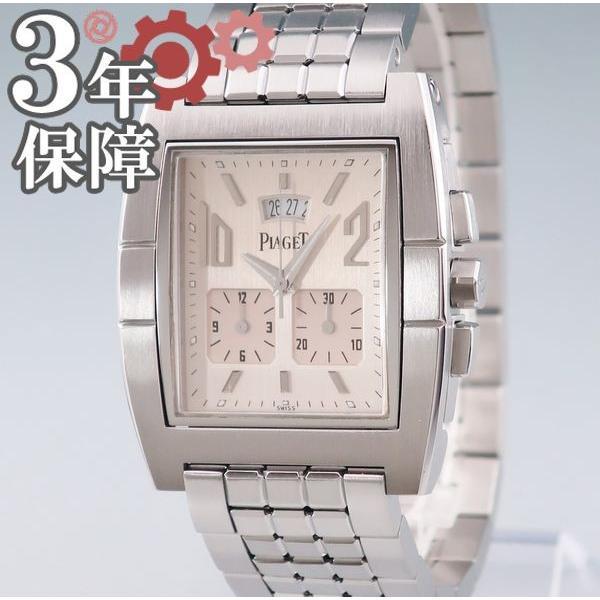印象のデザイン ピアジェ GOA28008 Piaget アップストリーム 腕時計 クロノグラフ クォーツ GOA28008 27150 クォーツ メンズ 腕時計 シルバー, ビューティハーモニー:d95e38ca --- airmodconsu.dominiotemporario.com