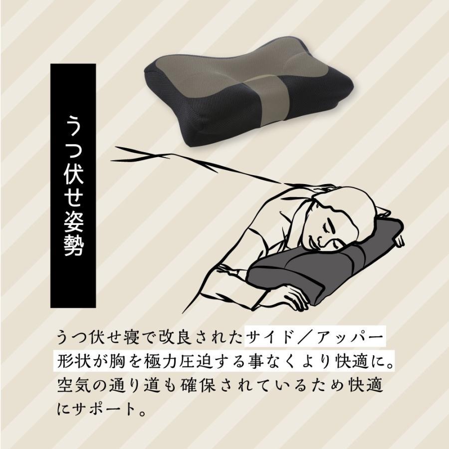 枕 まくら ストレートネック 肩こり 首こり ピロー 整体師 おすすめ ストレートネック RAKUNA整体枕|ibiki-kenkyujyo|17