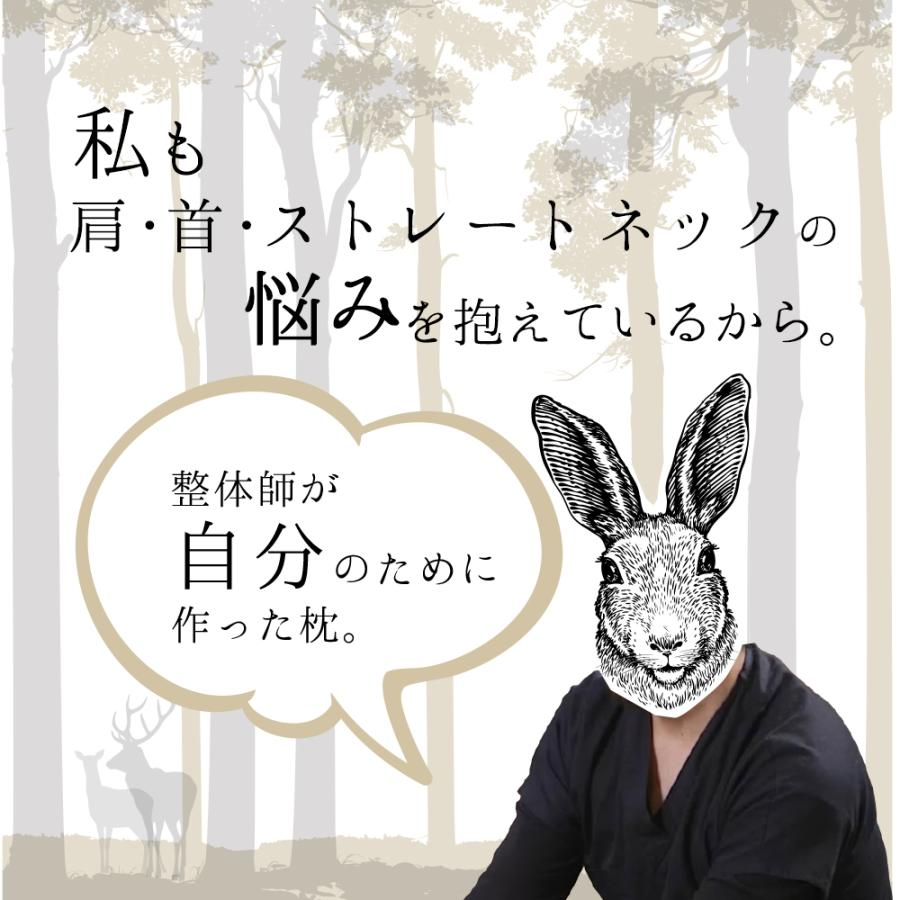 枕 まくら ストレートネック 肩こり 首こり ピロー 整体師 おすすめ ストレートネック RAKUNA整体枕|ibiki-kenkyujyo|05