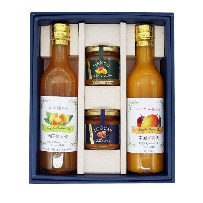 ジュース ジャム ギフト セット 詰め合わせ フルーツジュース びわ マンゴ− ビワ ibusukiya