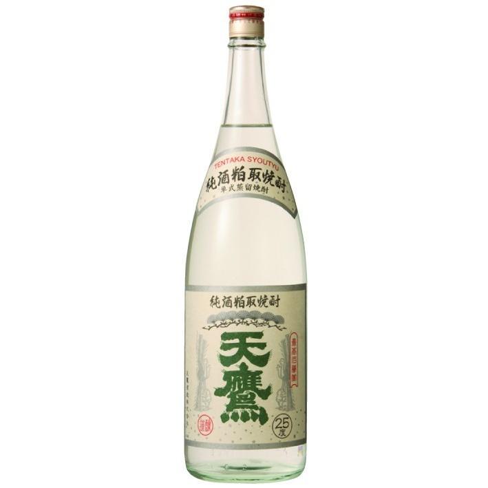 天鷹酒造 純酒粕取焼酎 天鷹25度 1800ml|iccg