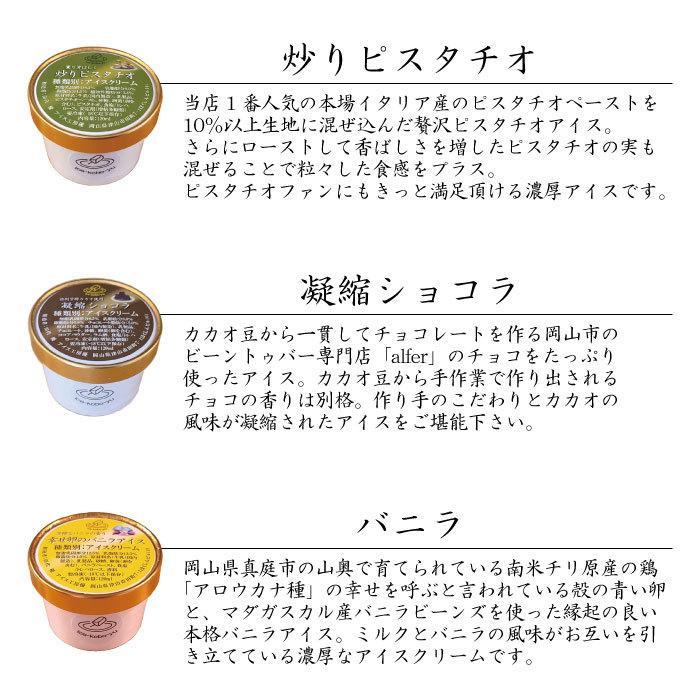 ハロウィンに! 選べるアイス6個セット!【アイス工房 優】手作りジャージー牛乳アイスクリーム!各120ml ギフト|ice-kobo-yu|02