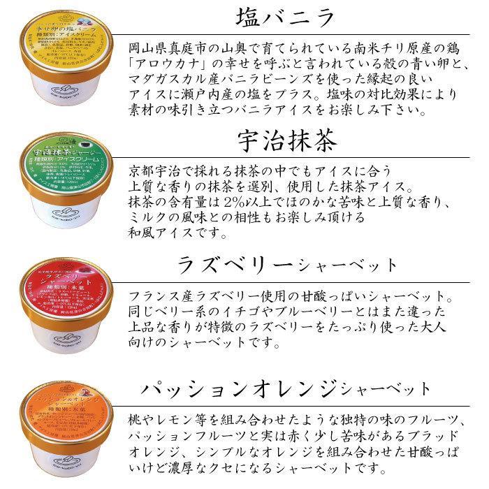 ハロウィンに! 選べるアイス6個セット!【アイス工房 優】手作りジャージー牛乳アイスクリーム!各120ml ギフト|ice-kobo-yu|03