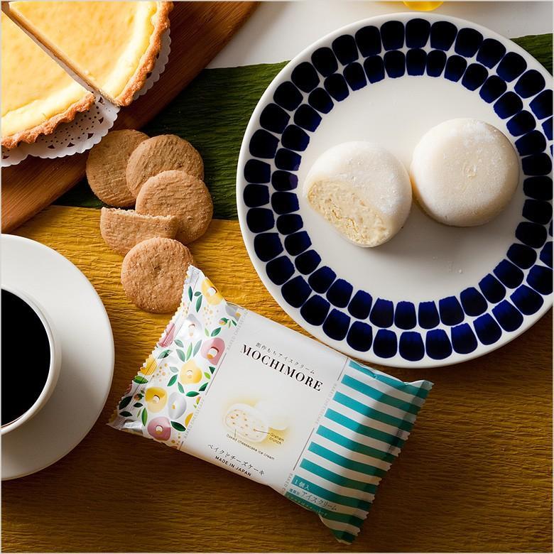 MOCHI MORE ベイクドチーズケーキ(和と洋の素材をミックスした創作もちアイス)|ice-ouan|02