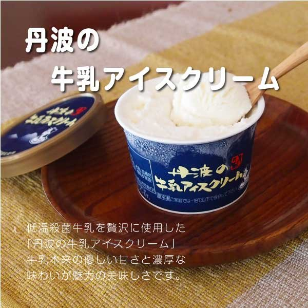 アイス ギフト ご当地 お取り寄せ 丹波篠山 黒豆 低温殺菌 牛乳:カップ&もなかセット|ice-sasayama|03