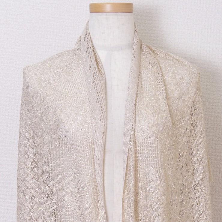 ストール ショール 結婚式 羽織物 お呼ばれ 大判ストール ラメ ボレロ  blr197056|icecrystal|05
