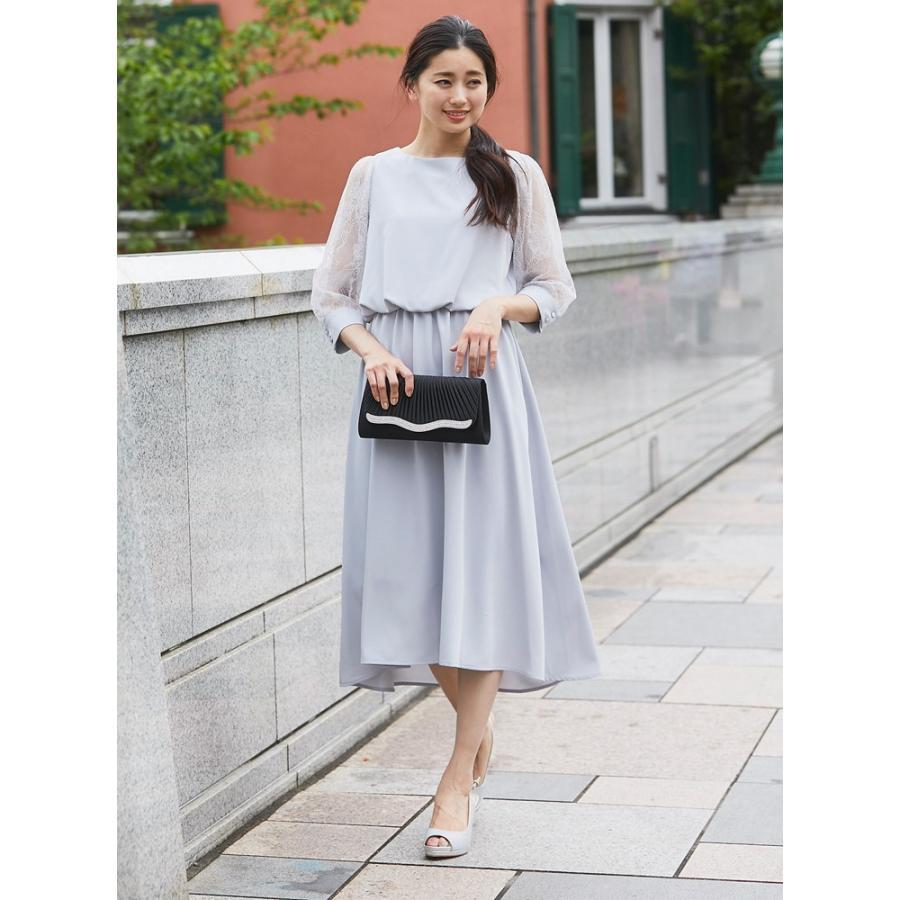 ワンピース パーティードレス 花柄 シースルー 結婚式 ドレス yimo105011 icecrystal 11
