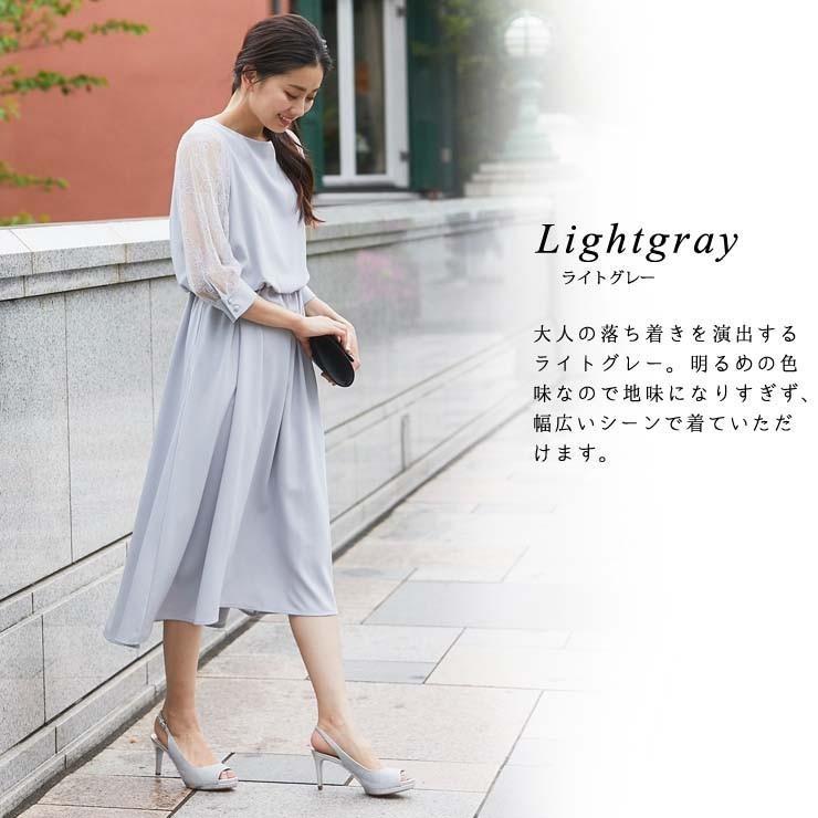 ワンピース パーティードレス 花柄 シースルー 結婚式 ドレス yimo105011 icecrystal 09