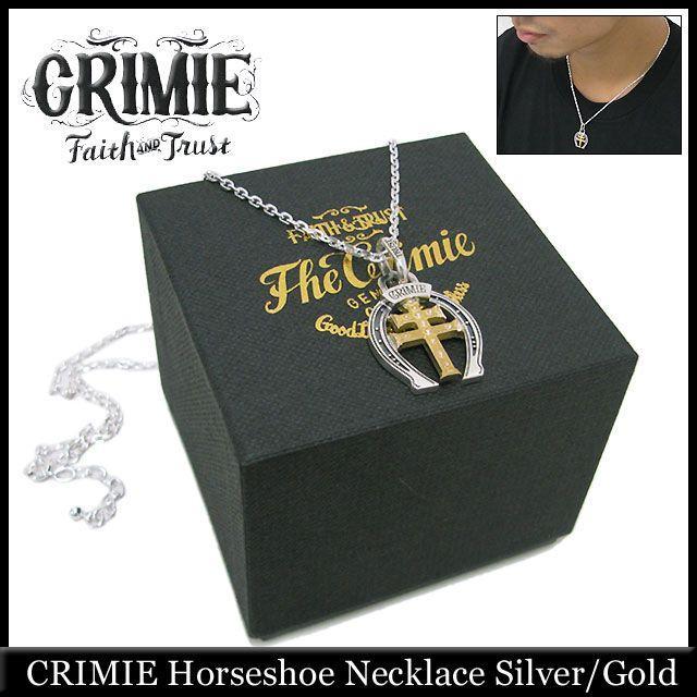 史上最も激安 クライミー CRIMIE ホースシュー ネックレス シルバー/ゴールド(crimie Horseshoe Necklace Silver/Gold), 宮崎牛のながやま 3dc13cc1
