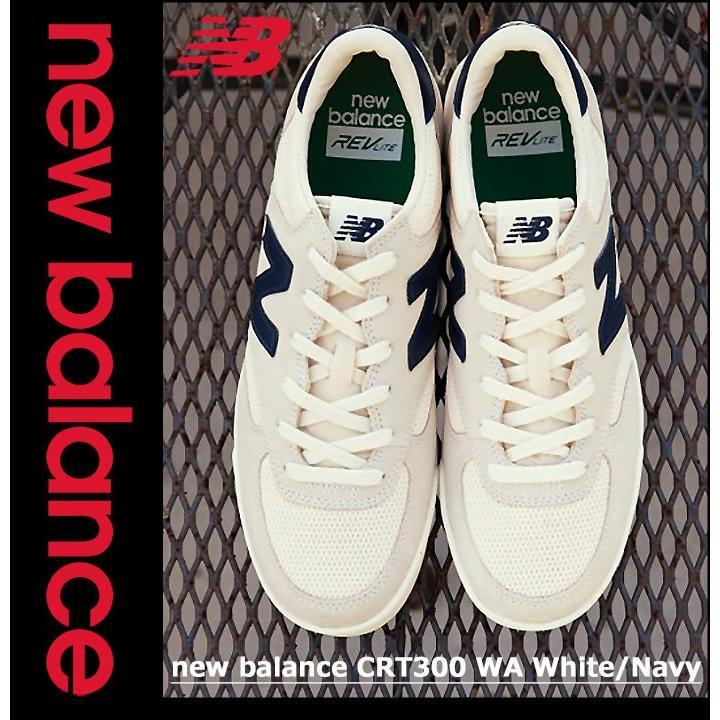 ffa1e46158a9 ... ニューバランス new balance スニーカー メンズ 男性用 CRT300 WA White Navy(newbalance CRT300  WA ...