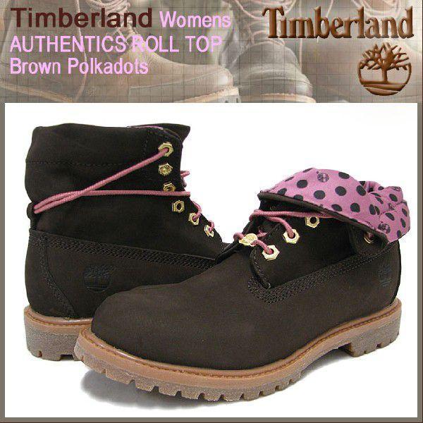 日本未入荷 ティンバーランド レディース) Timberland ウーマンズ ウーマンズ ブーツ オーセンティックス ロールトップ ロールトップ ブラウン ポルカドット(timberland 8136A ROLL TOP レディース), ネットサプライ:98b47ce5 --- fresh-beauty.com.au