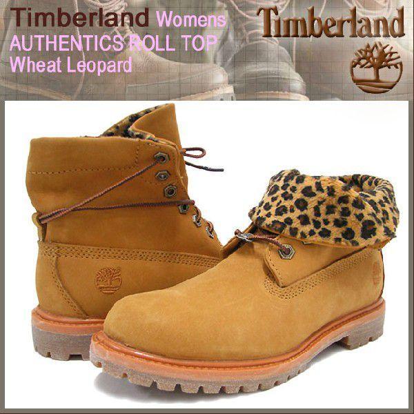 最も完璧な ティンバーランド Timberland ウーマンズ Timberland ブーツ レオパード(8139A オーセンティックス ロールトップ ウィート ウーマンズ レオパード(8139A Leopard レディース), Day Tripper:b247a631 --- fresh-beauty.com.au