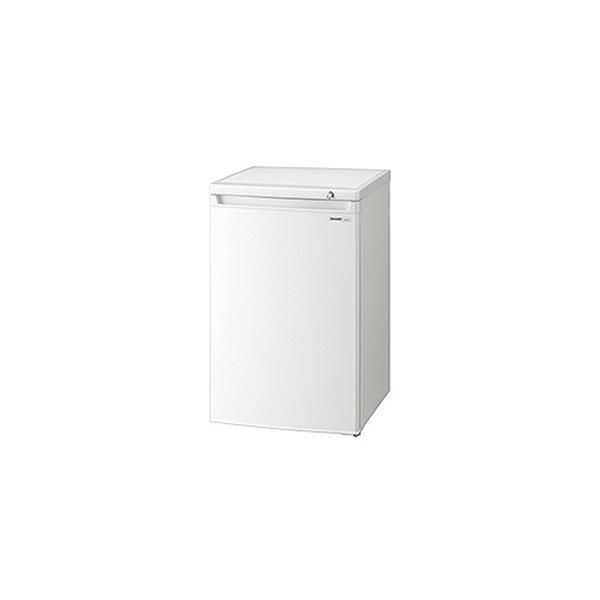 冷凍庫 直冷式 シャープ SHARP FJ-HS9X ホワイト系 代引不可 同梱不可|ichibankanshop|02